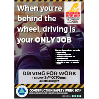 Preview of Driving For Work - When you are behind the wheel, driving is your ONLY JOB